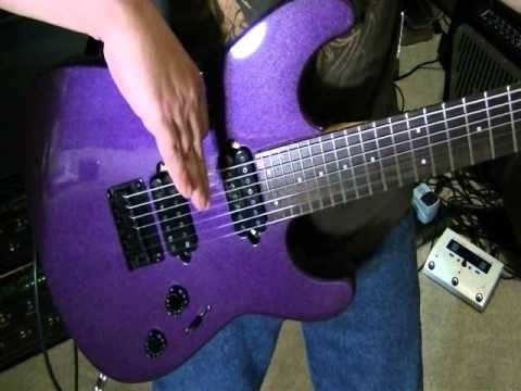 Cool 80's Staccato Rock Rhythm Guitar Lesson. EASY! Scott Grove