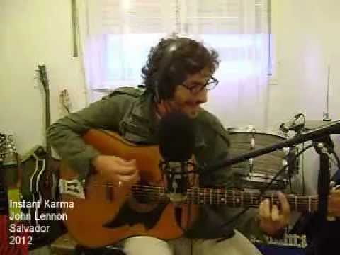 Instant Karma John Lennon Chords Youtube