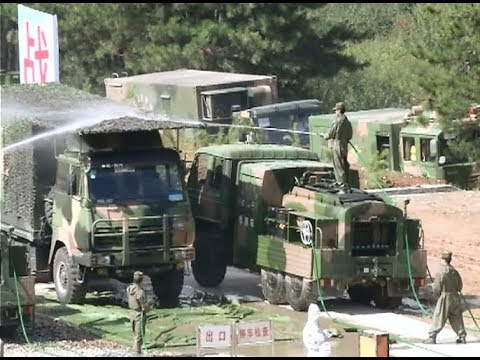 Thumbnail: China's Rocket Force Conducts Military Exercises