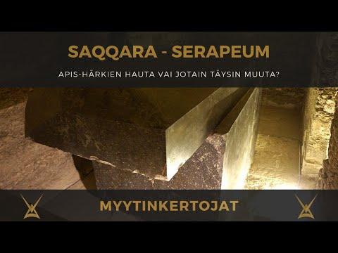 Saqqara Serapeum - Apis-härkien hauta vai jotain täysin muuta?