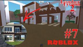 COMO CONSTRUIR CASA MODERNA / HOW TO BUILD MODERN HOUSE l LUMBER TYCOON 2 *ROBLOX*