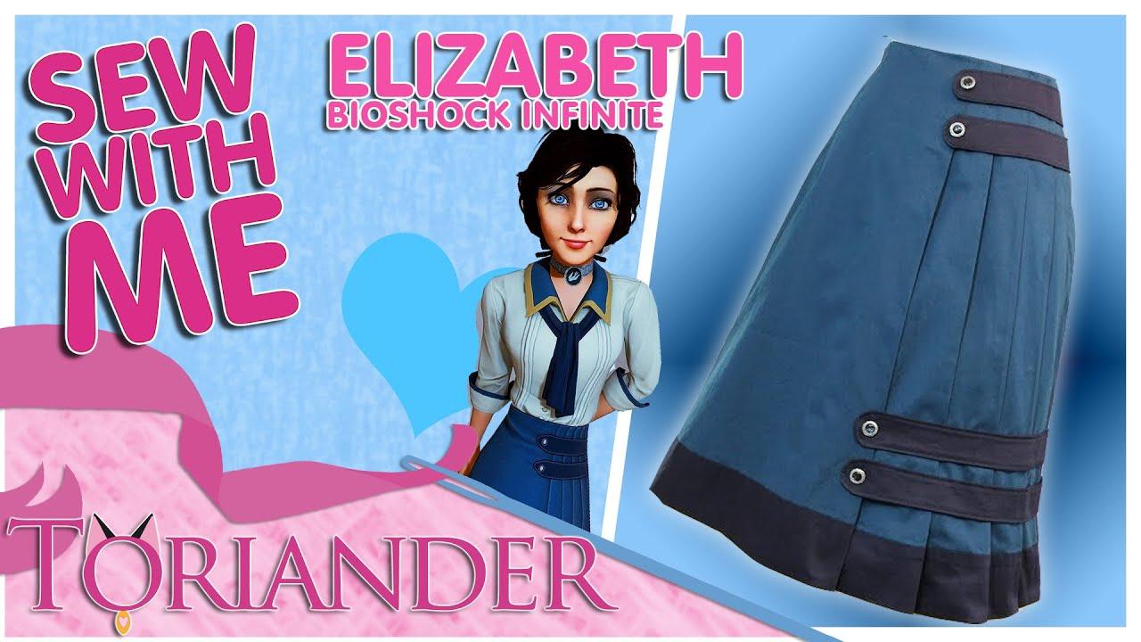 9f651e58e5 Sew With Me  Making Elizabeth s Skirt -Bioshock Infinite Cosplay ...