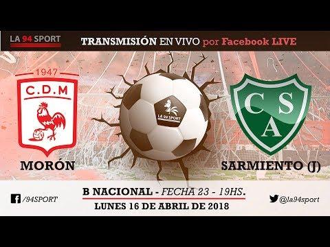 Dep. Morón Vs Sarmiento (J) B Nacional Fecha 23 / En Vivo HD!