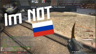 People think that i'm Russian