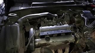 Замена датчика детонации Opel vectra B