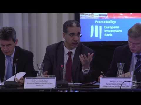 Aziz Rabbah on launching of LOGISMED-TA project. l عزيز رباح حول اطلاق مشروع لوجيسميدتا