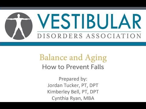 Balance & Aging How to Prevent Falls