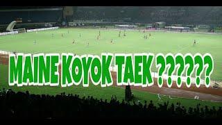 Download Video VLOG #31 PERSEBAYA V PERSERU | MAINE KOYOK TAEK ????? @ STADION SI JALAK HARUPAT MP3 3GP MP4