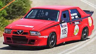 410Hp Alfa Romeo 75 Turbo || RWD Italian Monster On the Limit !!!