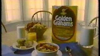 "Golden Grahams Cereal ""Happy Together"" Commercial 1987"