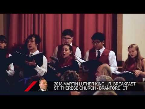 2018 Martin Luther King, Jr. Breakfast: St. Therese Church - Branford, CT: 01/15/2018