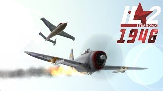 Full IL-2 1946 mission: He-162 Volksjäger (Multiplayer Mission)