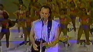 Men At Work - Down Under / Overkill (live @ Brazilian TV Show Domingão do Faustão 1996)