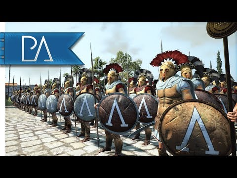 SPARTANS MAKE THEIR STAND! - Siege Battle - Total War: Rome 2