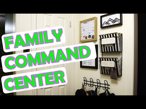ORGANIZATION   Our Family Command Center