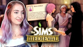 Using The Sims: Medieval to make every man fight for my affection