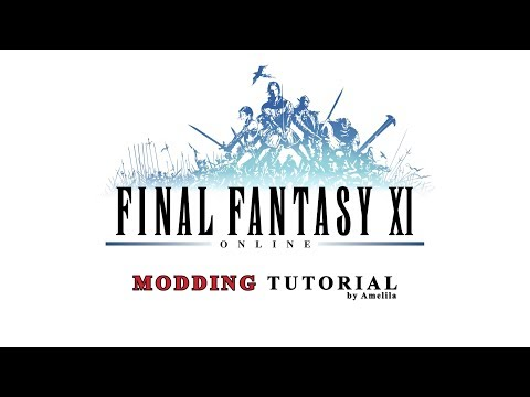 FFXI - Modding Tutorial 01 - The Basics