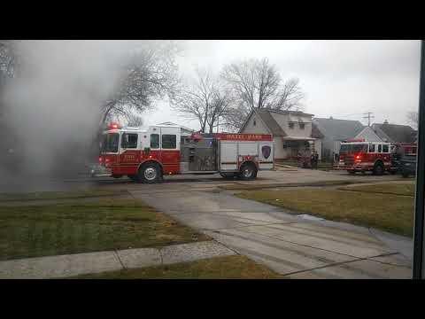 hazel park house fire