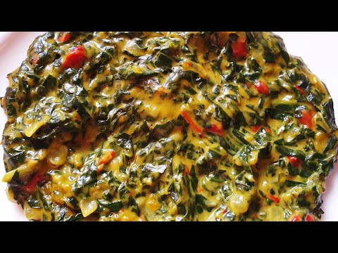 Creamed Spinach/Creamy Spinach South Africa/How To Cook Spinach/South African Recipes/Cooking Veges