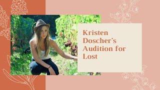 Kristen Doscher's Audition for Lost