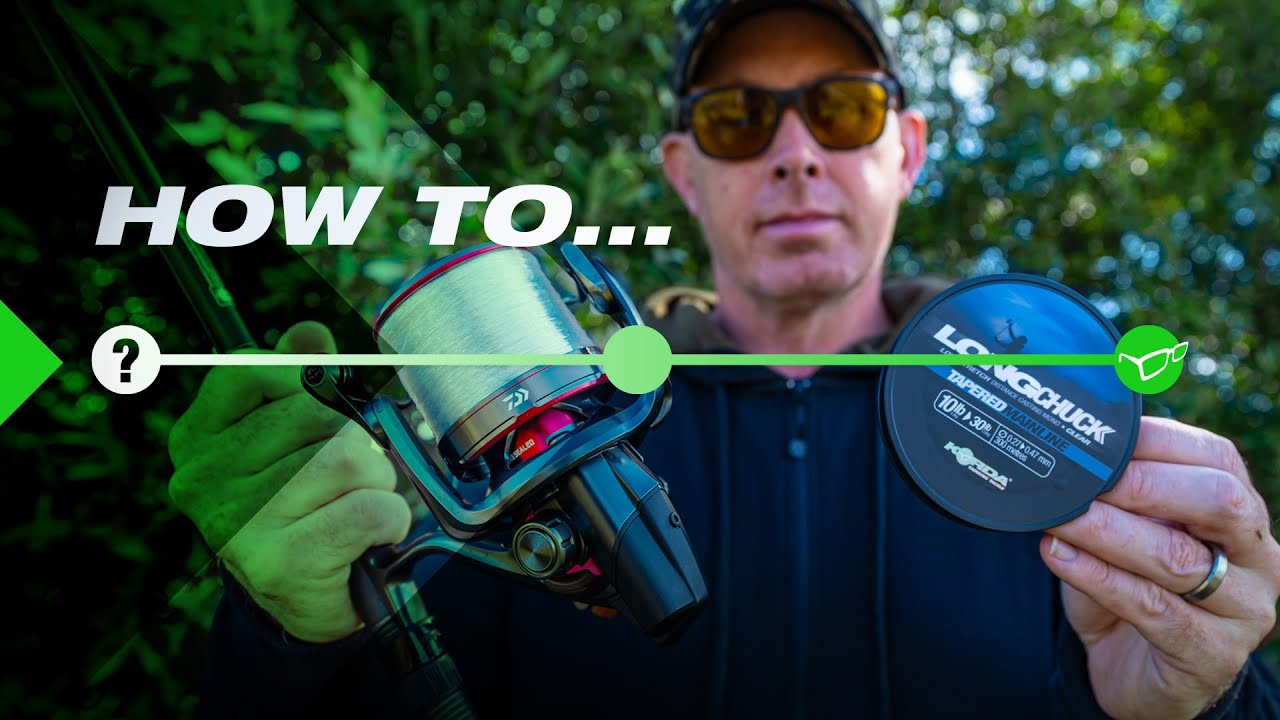 How To PERFECTLY Spool Up with TAPERED MONO CASTING LINE | KORDA LONG CHUCK