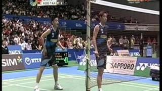 Video YONEX OPEN JAPAN  Semi Final MD CAI / FU vs KOO / TAN download MP3, 3GP, MP4, WEBM, AVI, FLV Mei 2018