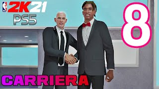 IL DRAFT! - NBA 2K21 PS5 CARRIERA Gameplay ITA Ep.8