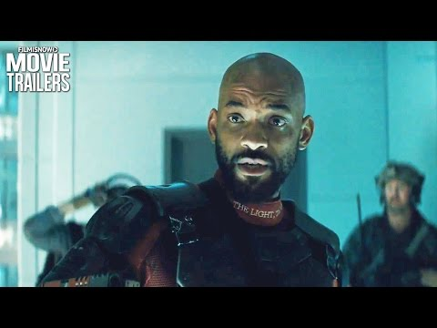 SUICIDE SQUAD   Will Smith's DEADSHOT is a hitman man, he doesn't save people!