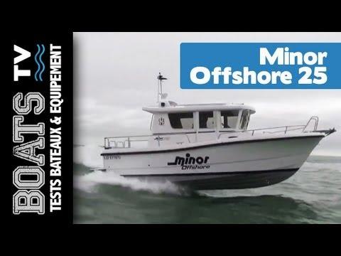 Minor Offshore 25 : Test / Présentation du bateau