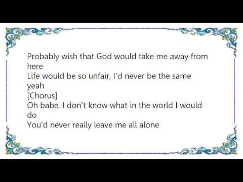 Lil' Mo - So Lost Without You Lyrics