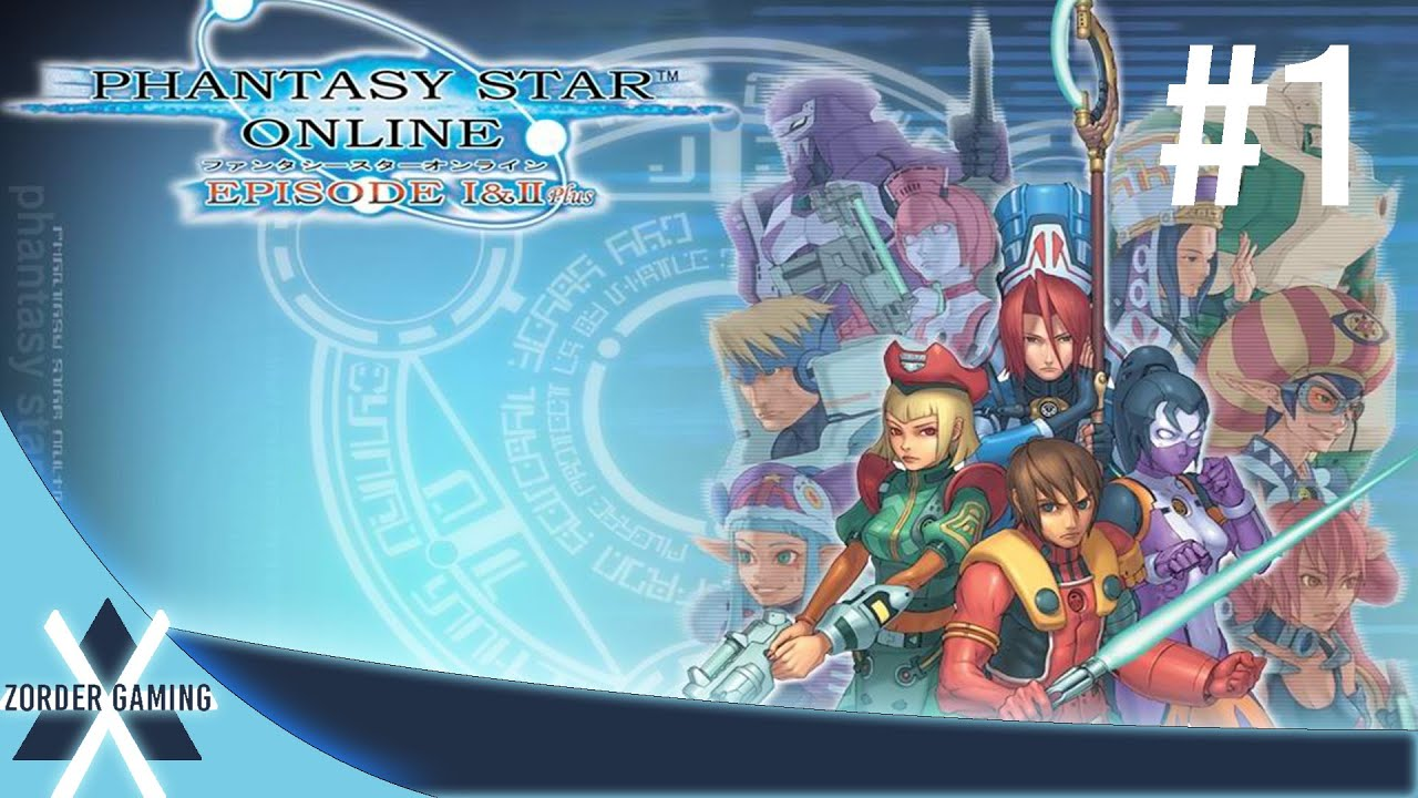 phantasy star online episode 1 & 2: part 1 no commentary - youtube