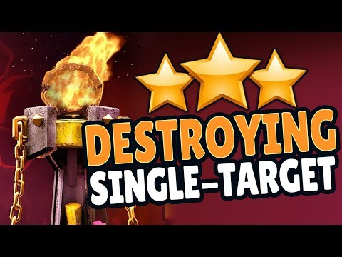 ATTACKING SINGLE-TARGET INFERNOS FOR 3 STARS