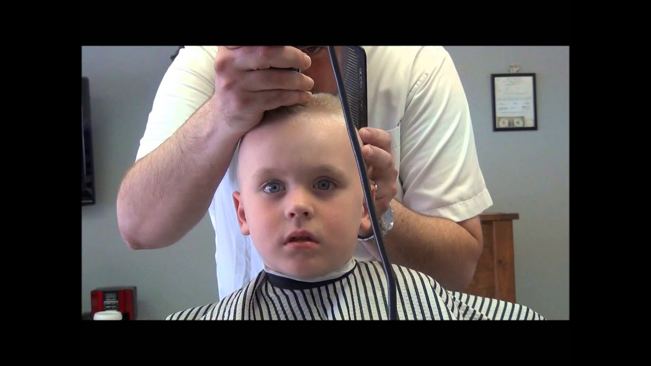 Little Boys First Flat Top Youtube