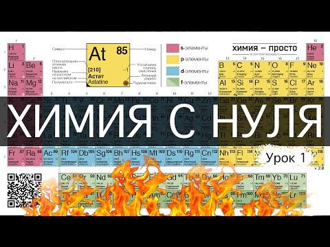 Химия - просто.  Урок 1 \