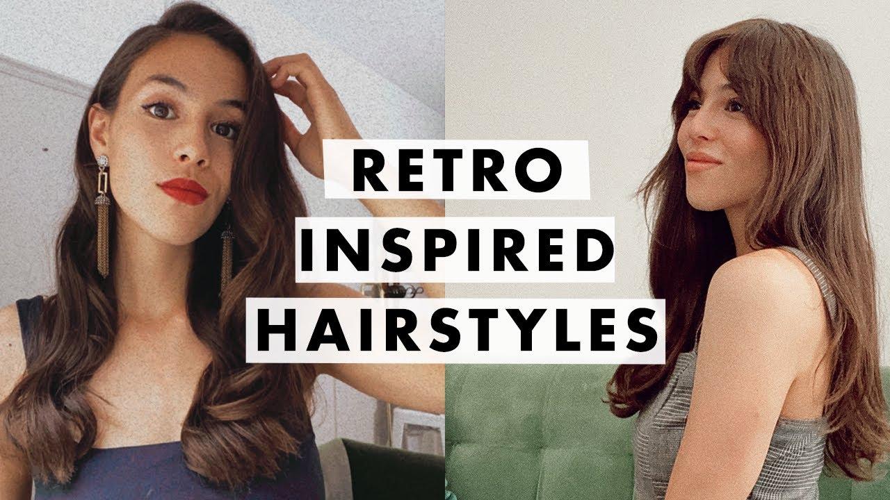 Easy Retro Hairstyles | Luxy Hair