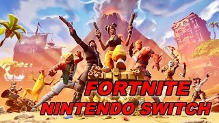 Fortnite squads gameplay on Nintendo Switch (live stream | giveaway)