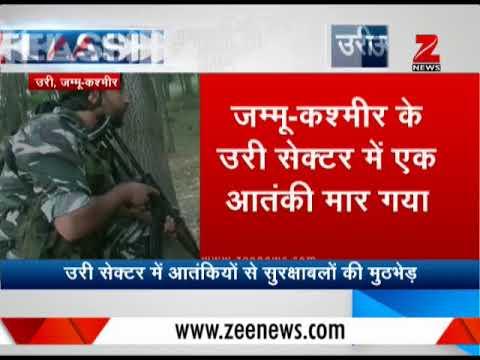 Kashmir: Terrorist killed in Uri, encounter underway