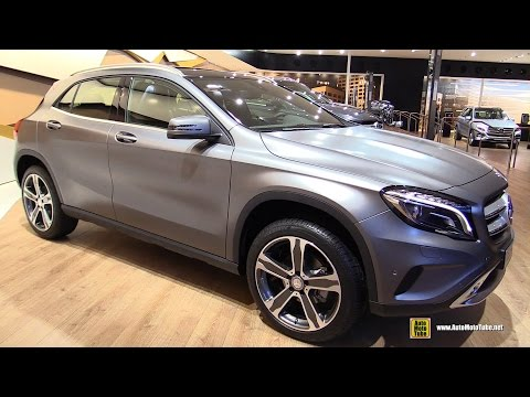 2016 Mercedes GLA 200d 4Matic - Exterior and Interior Walkaround - 2015 Frankfurt Motor Show