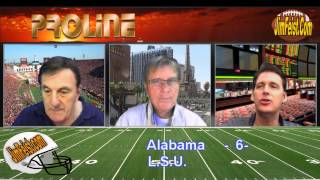 College Football Free Pick: Alabama Crimson Tide vs. LSU Tigers Betting, Nov. 8, 2014