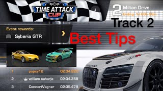 CarX Drift Racing Time Attack Cup Track2 Milton Dr.!! Tips & Racing+ Setups, Falcon RZ & DTM46 Beast