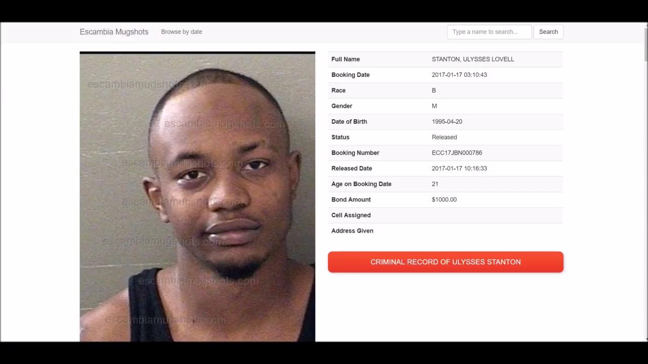 Lovell Stanton got arrested on January 17, 2017