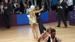 2015 Australian Dancesport  Championship WDSF  Open Latin Final