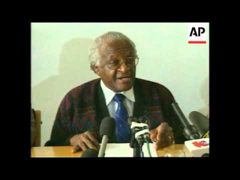 SOUTH AFRICA: ARCHBISHOP TUTU TRUTH COMMISSION PRESS CONFERENCE