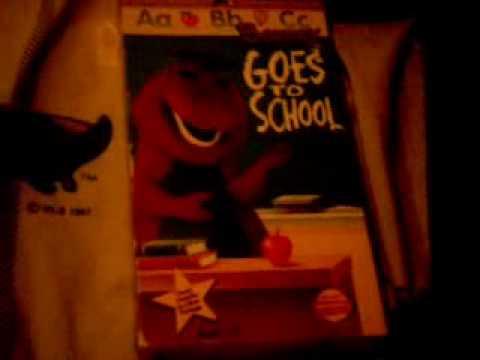 My Backyard Gang Barney VHS Tapes (Part 1) - YouTube