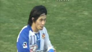 89回天皇杯 準決勝戦 2009/12/29 国立競技場 ゲームは2-1で敗れましたが...