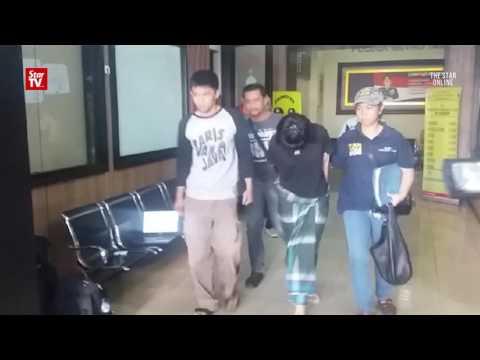 Jakarta cops arrest naked shopper