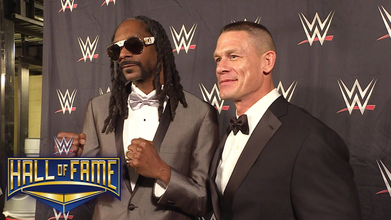 snoop dogg comments on his 2016 wwe hall of fame induction april 2 2016 youtube. Black Bedroom Furniture Sets. Home Design Ideas