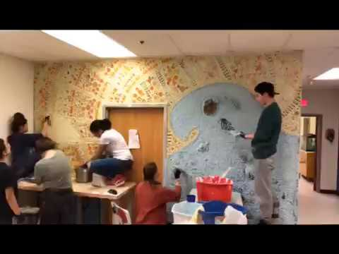 Sparhawk School Mural Arts Time Lapse