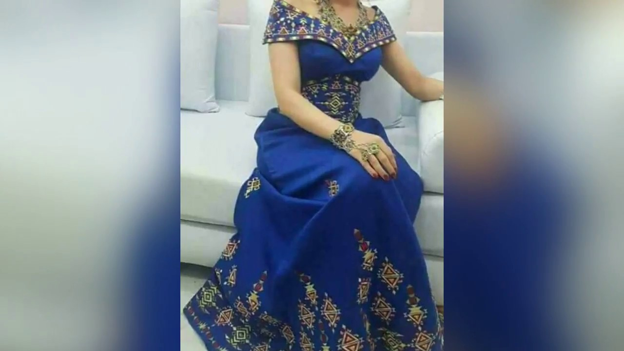 robe kabyle et berbere moderne 2018 pour marees