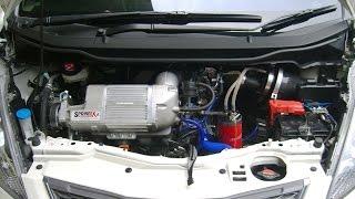 Honda Jazz Supercharger Sprintex Dyno Test